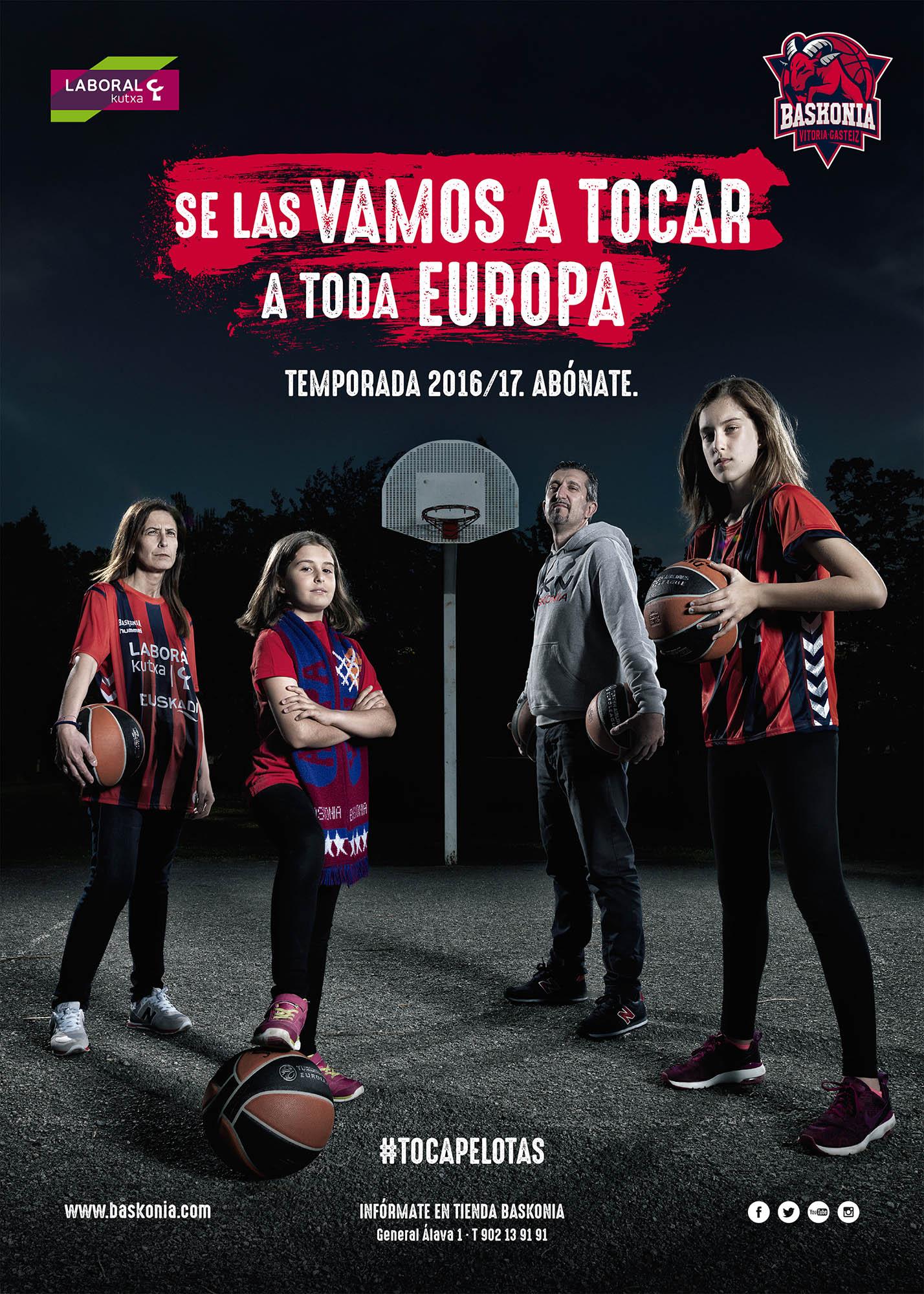 baskonia vitoria gasteiz team basket baloncesto campaña abonados erredehierro