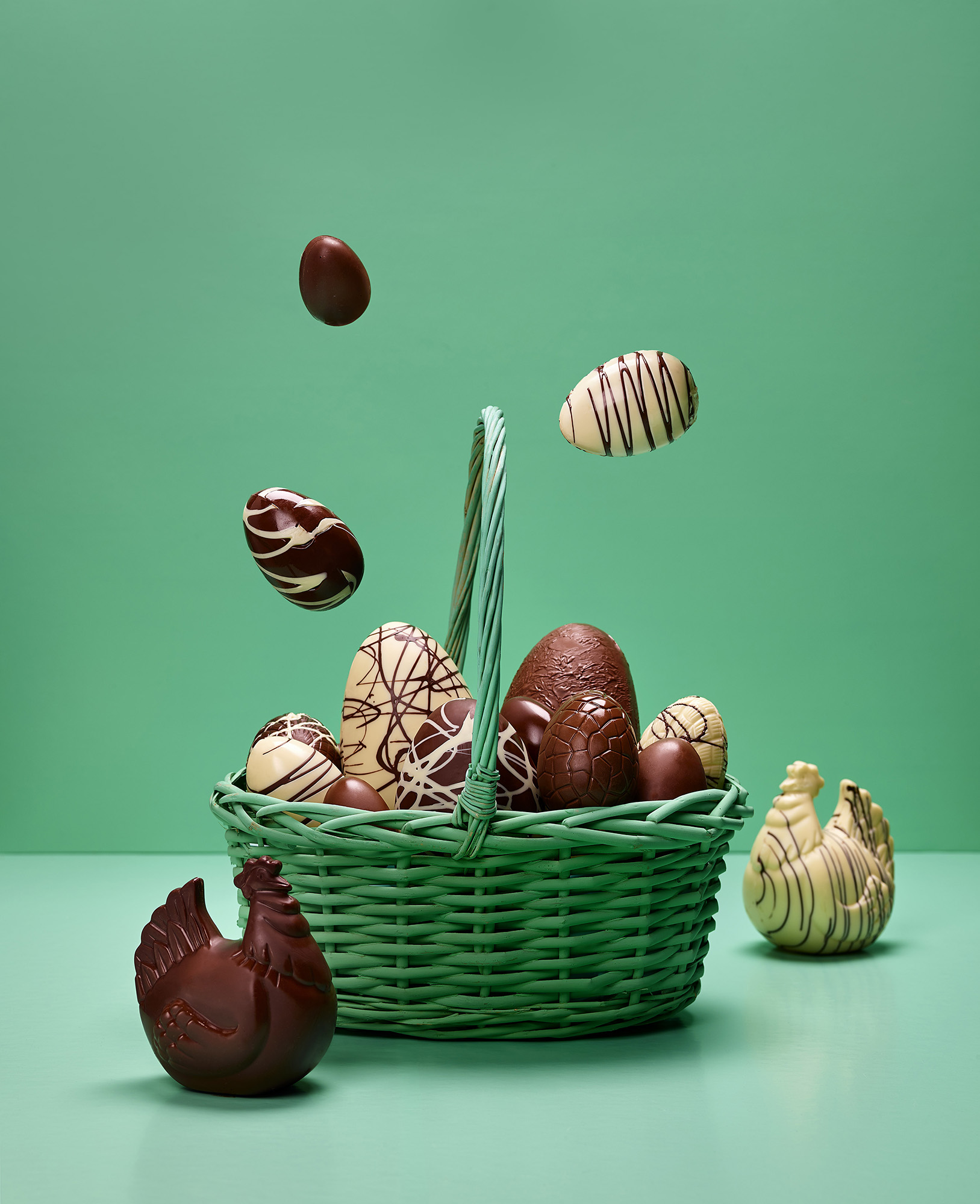 huevos de pascua, Artepan cartel advertaising photography