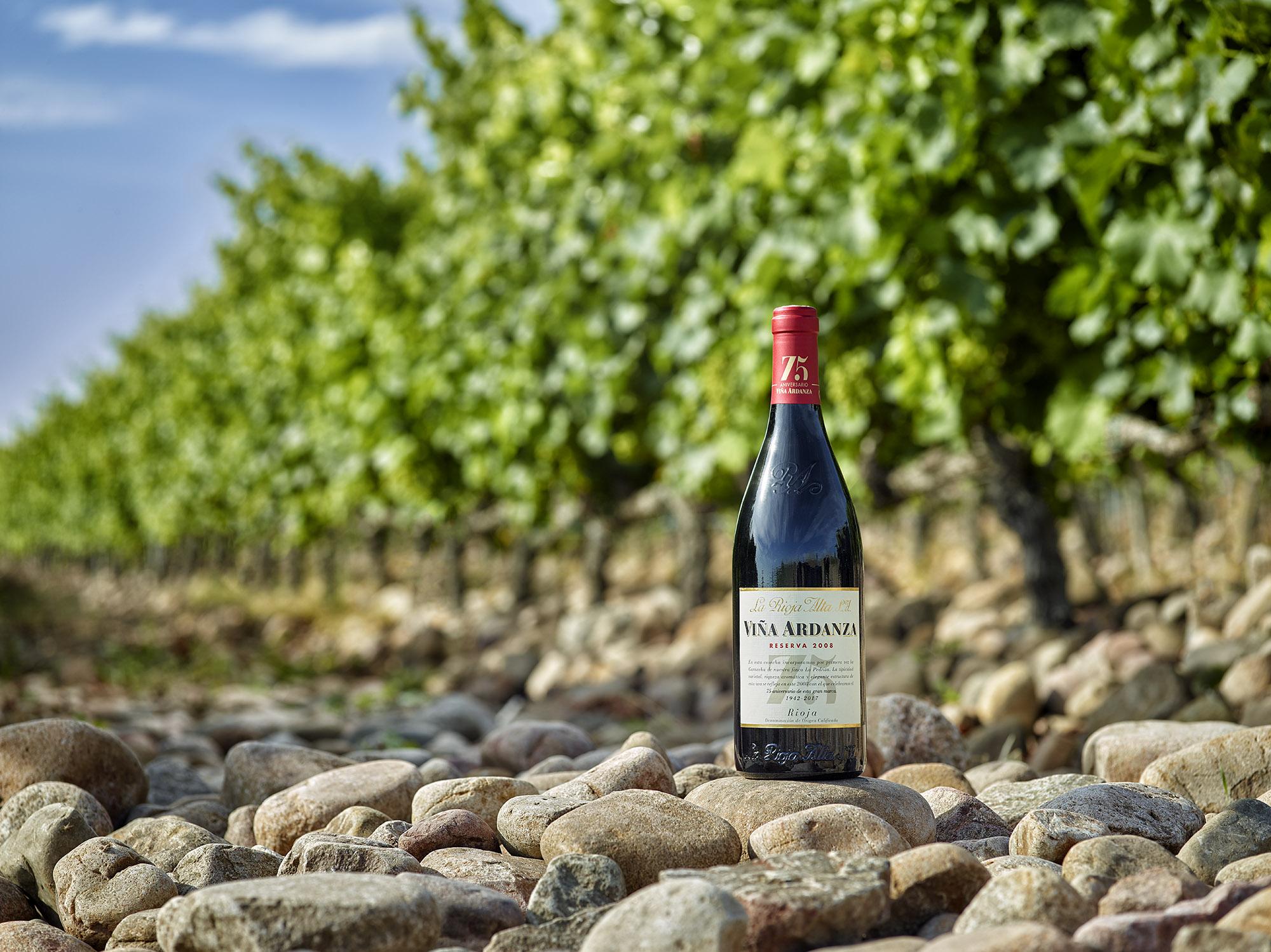 viña andanza Rioja alta Rioja Alavesa vino wine botella producto estudio Hasselblad phase one