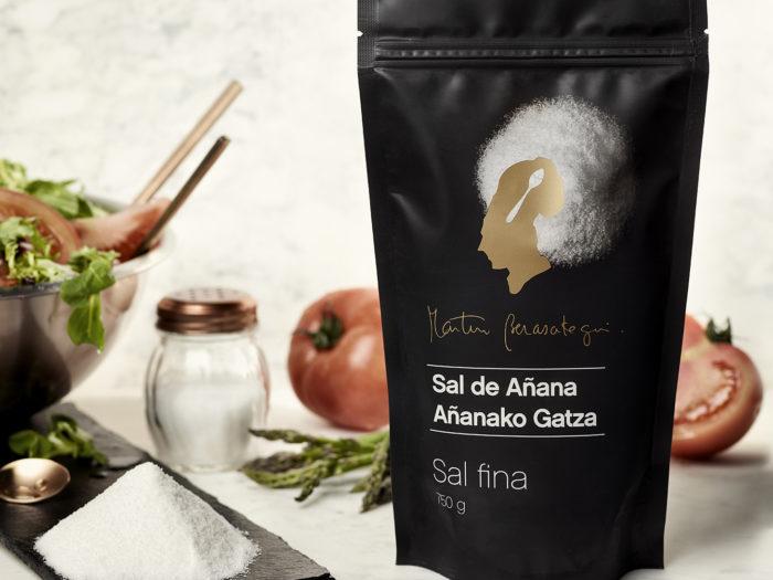 sal fina valle salado añana Salinas de Añana cartel Sormen publicidad adveirtaising